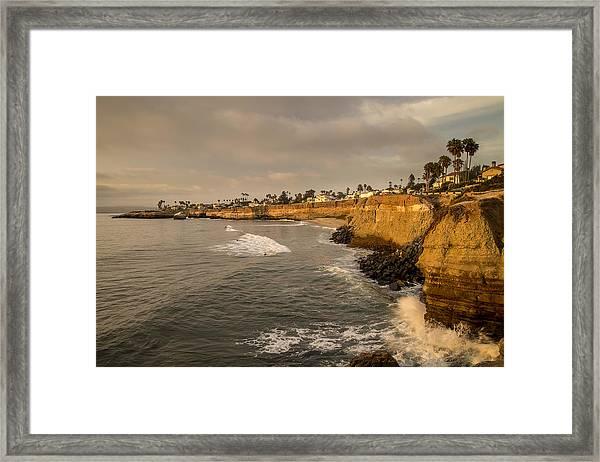 Sunset Cliffs 4 Framed Print