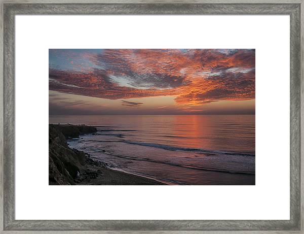 Sunset Cliffs Sunset 2 Framed Print