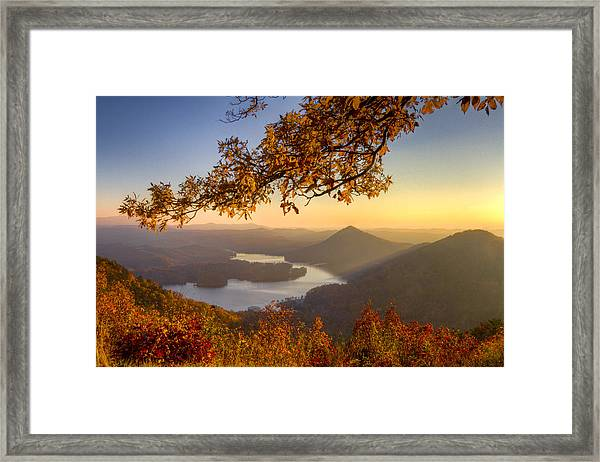 Sunset Light Framed Print