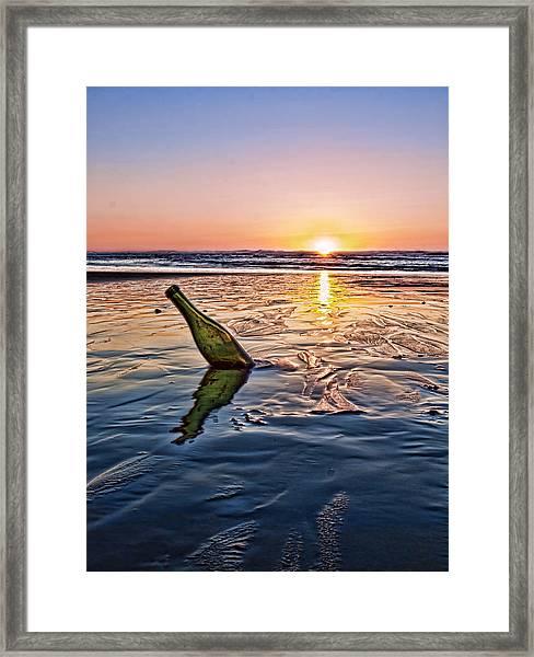 Sunset Memory  Framed Print