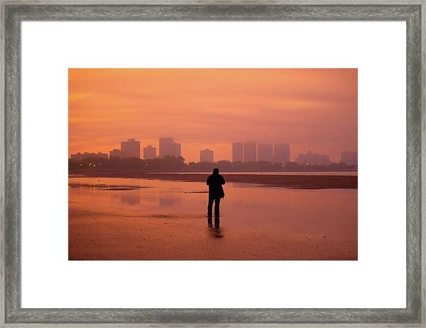 Sunset Moment Framed Print