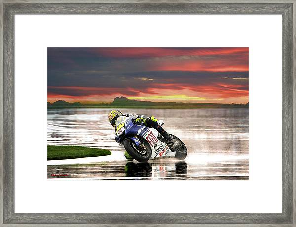 Sunset Rossi Framed Print