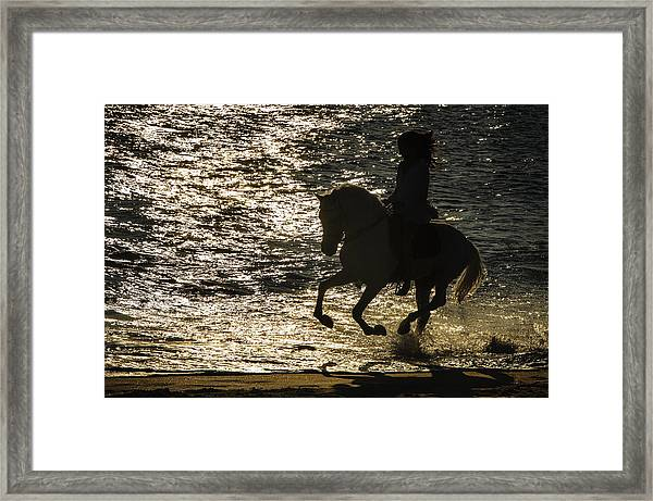 Sunset Seranade  Framed Print