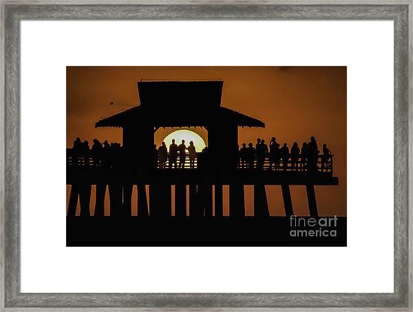 Sunset Supervisors Framed Print