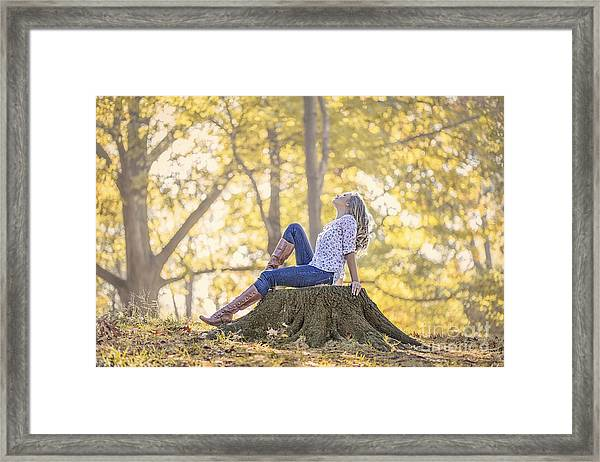 Sunshine Ecstasy Framed Print
