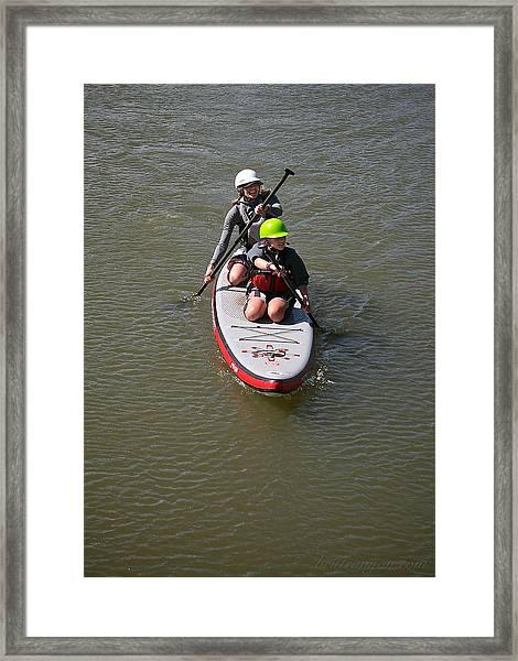Sup Team Framed Print