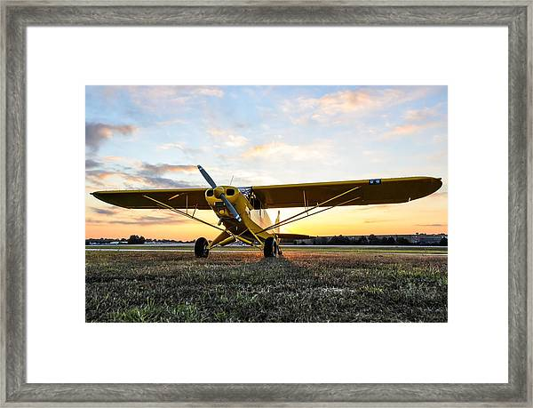 Super Cup Sunrise Framed Print