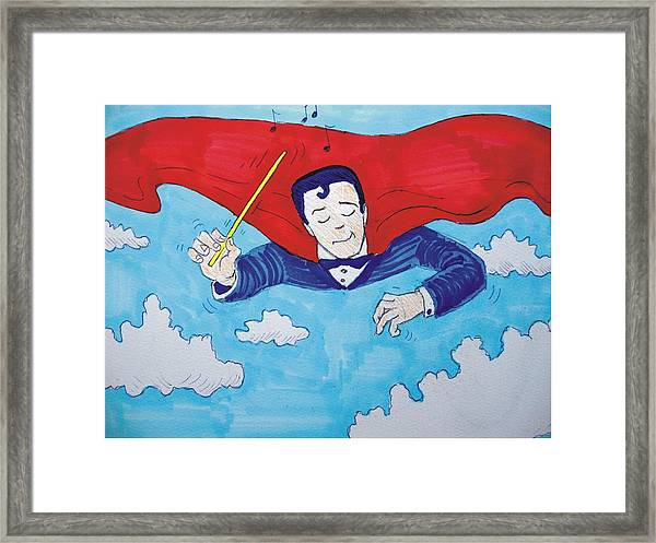 Superconductor Framed Print