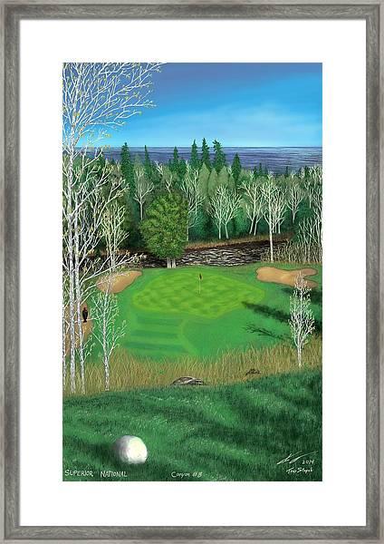 Superior National Golf Canyon 8 Framed Print