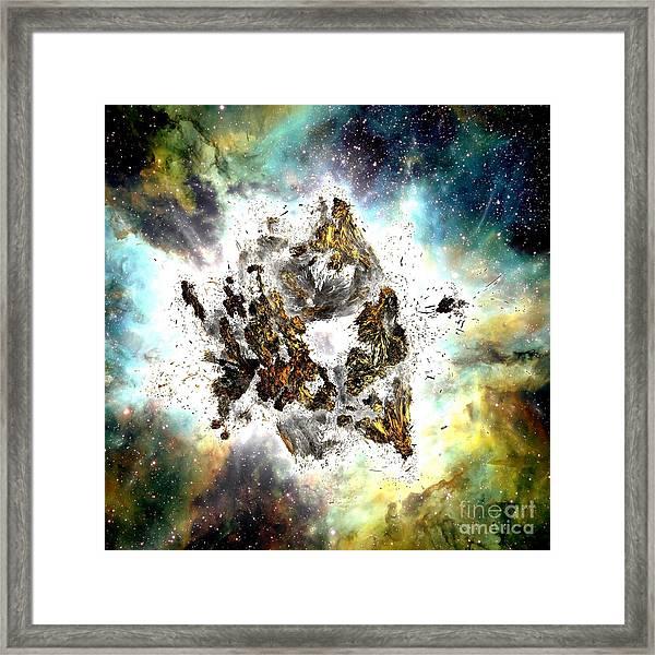 Supernova Framed Print by Bernard MICHEL
