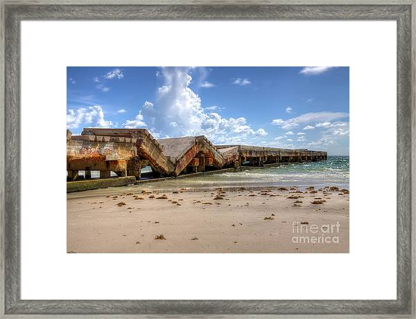 Support Framed Print