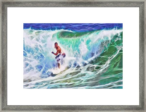 Surfin Usa Framed Print