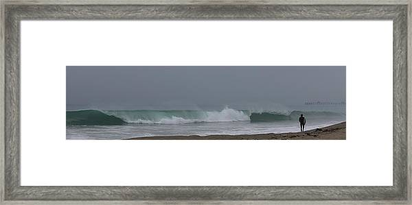 Surfs Up Framed Print