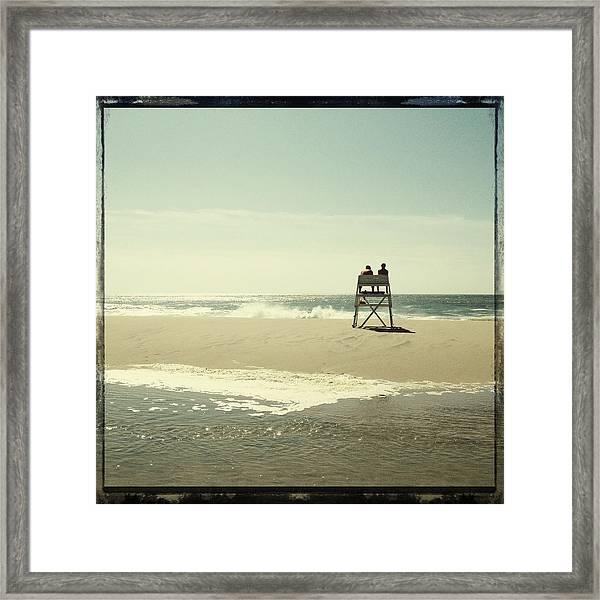 Surfside Framed Print