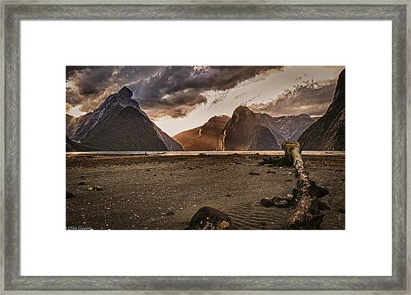 Surreal Milford Framed Print