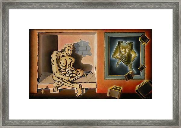 Portents Of Genius Framed Print