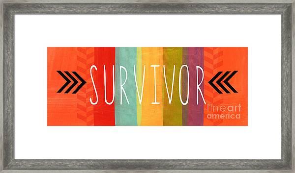 Survivor Framed Print