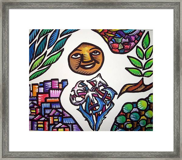Sustainability 2010 Framed Print