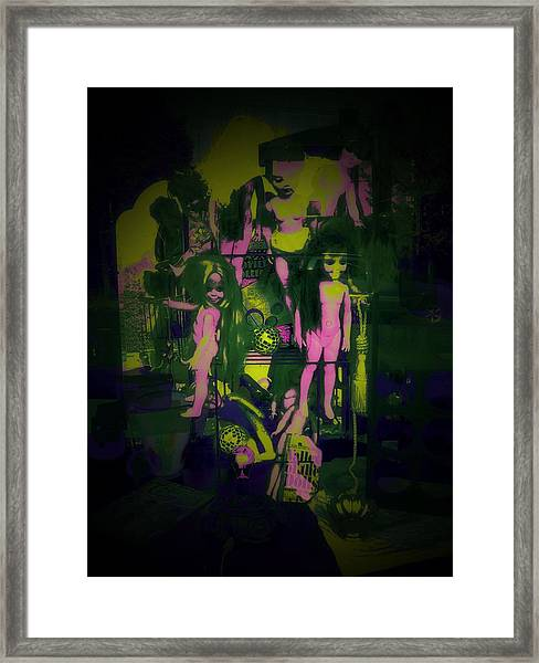 Suzy's Internalized Brooding Framed Print