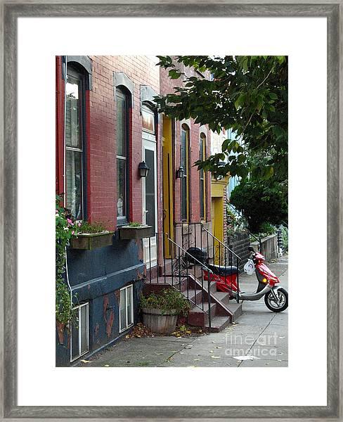 Swain Street Framed Print