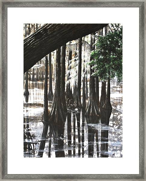 Swamp Thing Framed Print