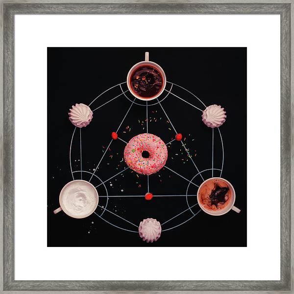Sweet Alchemy Of Cooking Framed Print by Dina Belenko