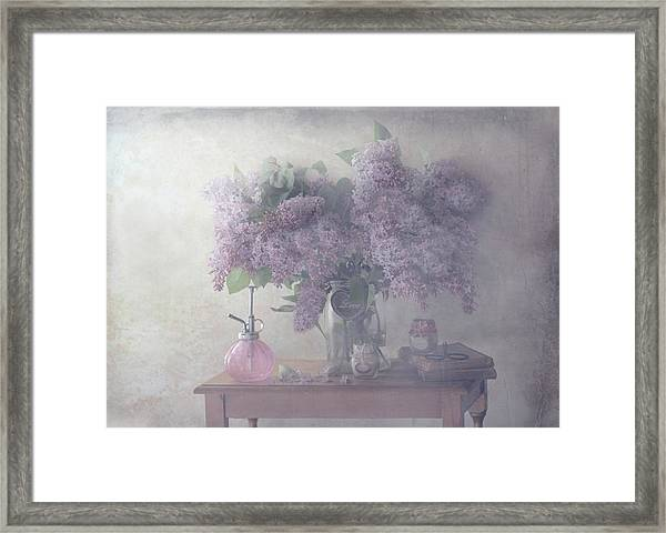 Sweet Lilacs Framed Print