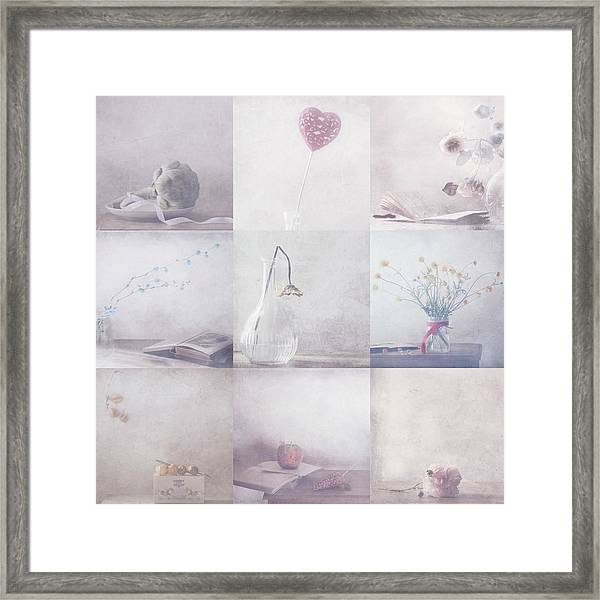 Sweet Little Things Collection Framed Print by Delphine Devos