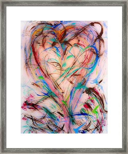 Sweet Love Framed Print