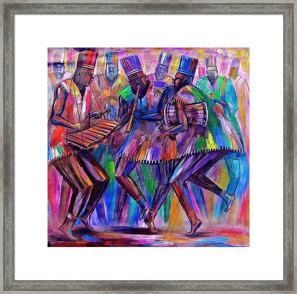Sweet Rhythms Framed Print