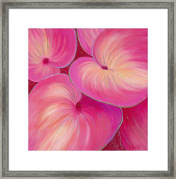 Framed Print featuring the painting Sweet Tarts II by Sandi Whetzel