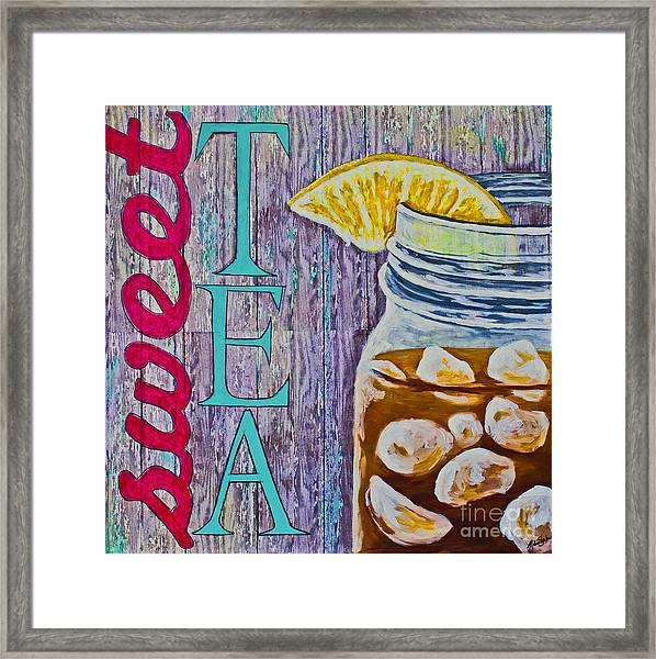 Sweet Tea Framed Print