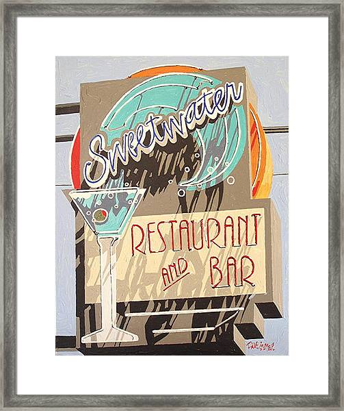Sweetwater Framed Print by Paul Guyer
