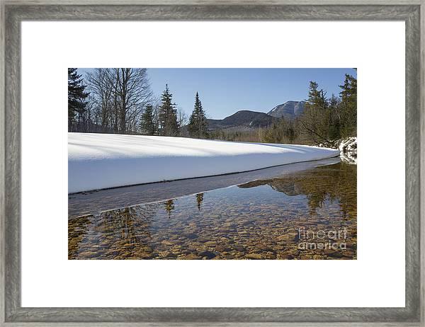 Swift River - Albany New Hampshire Usa Framed Print