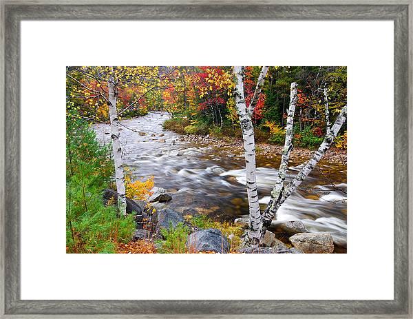 Swift River Framed Print
