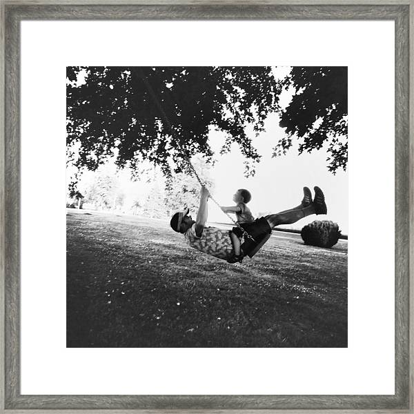 Swing High Sweet Chariot Framed Print