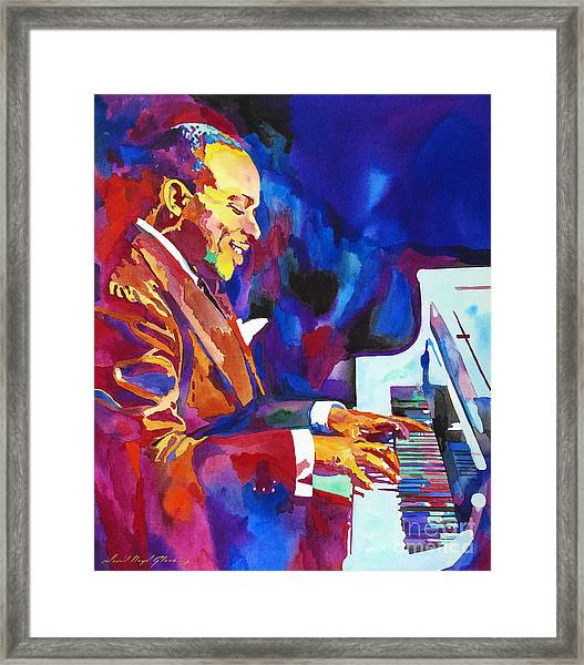 Swinging With Count Basie Framed Print