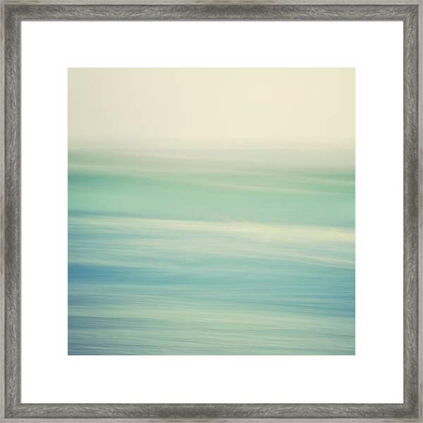 Swish Framed Print