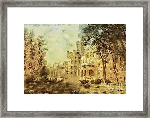Sybillas Palace Framed Print