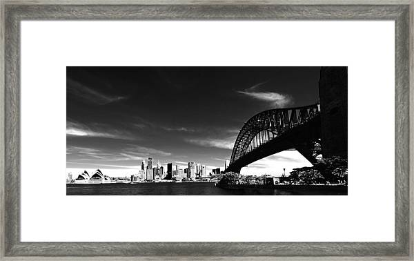Framed Print featuring the photograph Sydney by Chris Cousins