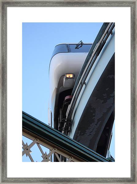 Framed Print featuring the photograph Sydney Mono Rail  by Debbie Cundy