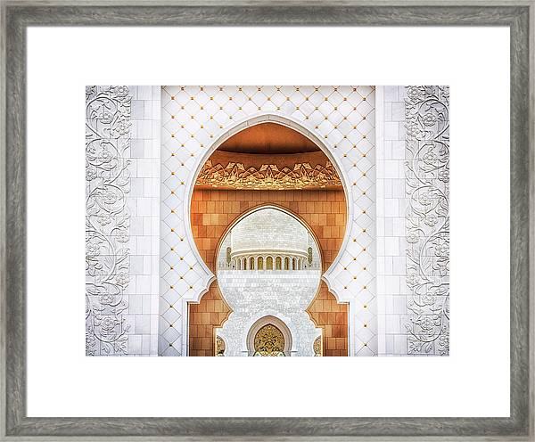 Symmetrical Framed Print
