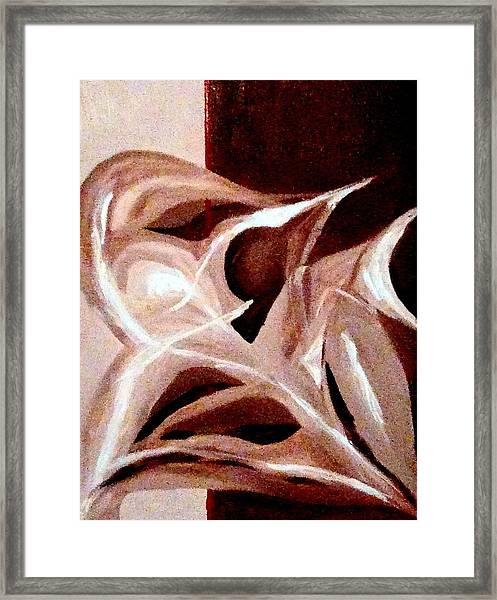 Symphonic Treatment Framed Print by Roy Hyslop