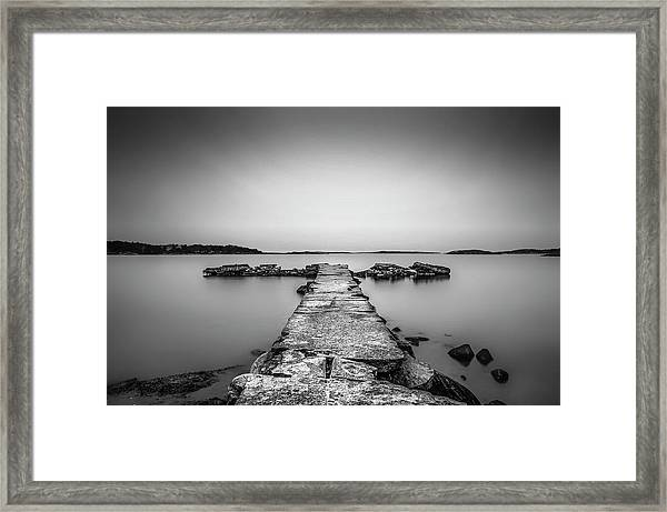 T Framed Print by Benny Pettersson