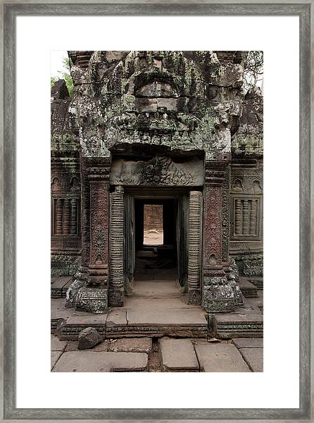 Ta Prohm Temple, Angkor, Cambodia Framed Print