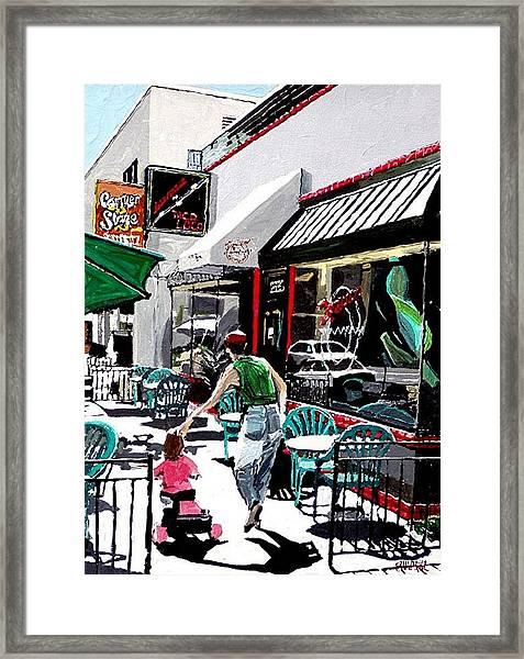 Taco Loco Framed Print by Paul Guyer