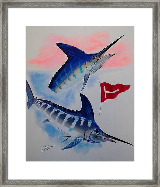 Tag And Release Framed Print