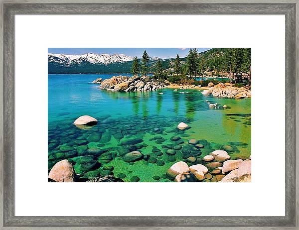 Tahoe Bliss Framed Print
