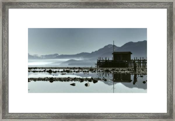 Tahoe Blue Framed Print