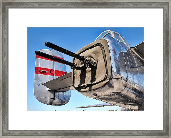 Tail Gunner Framed Print